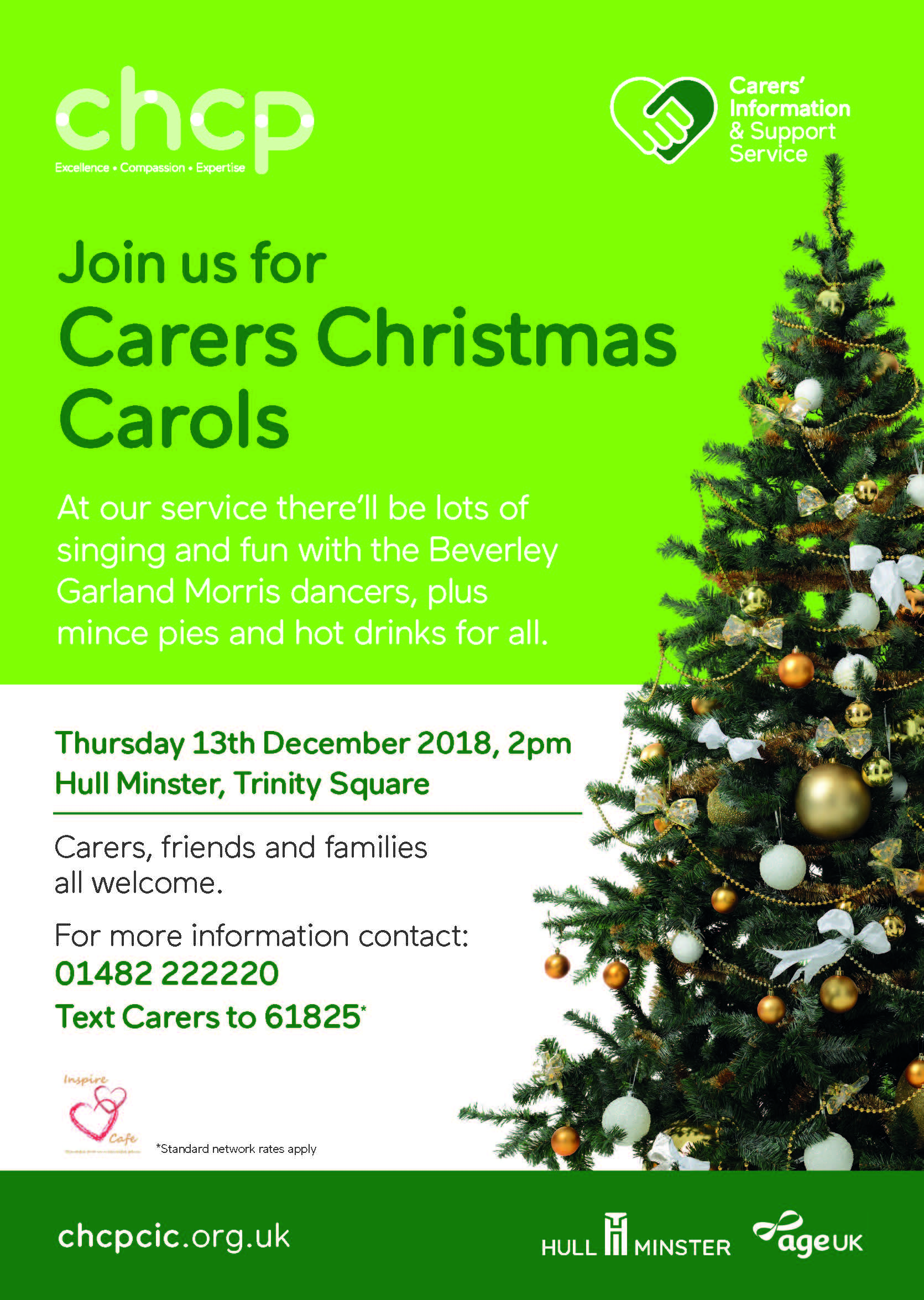 Hull Carers Christmas Carols